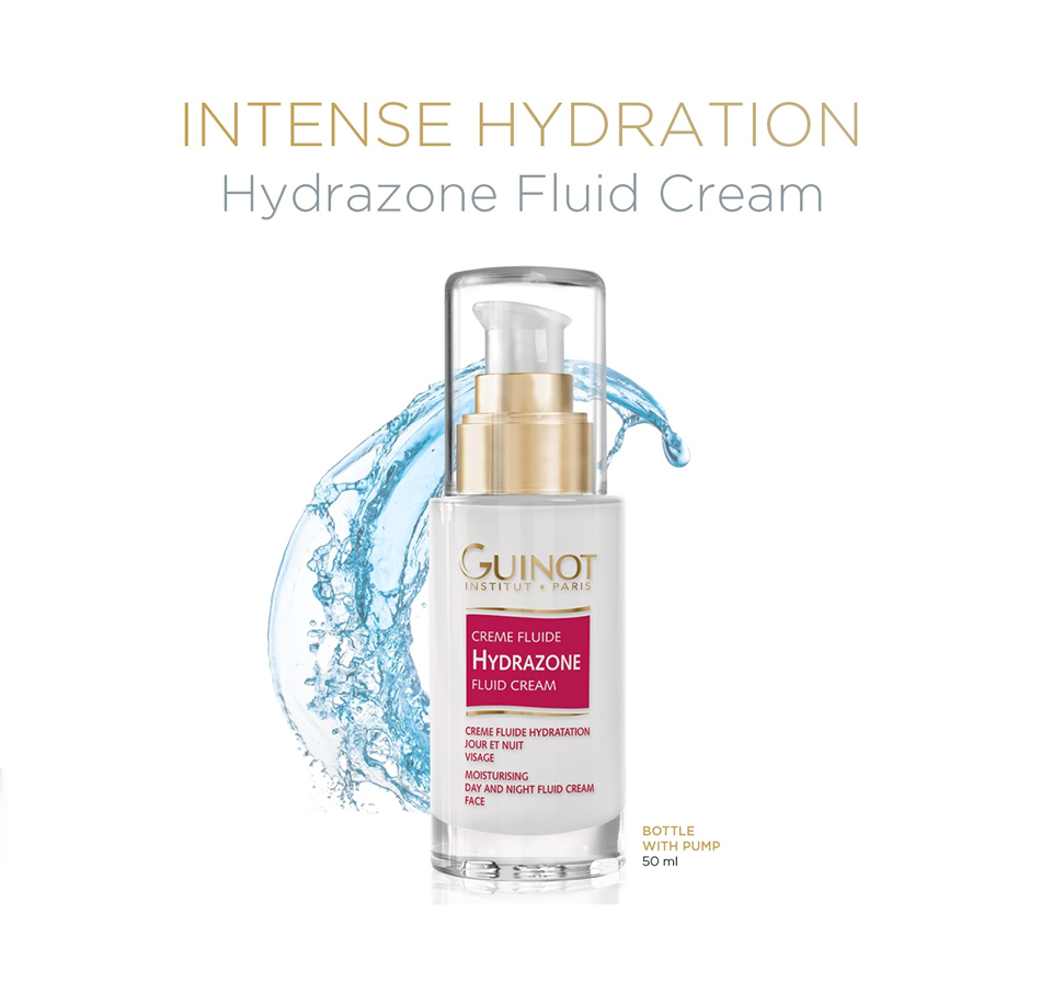 soothe dry skin with Hydrazone at La Renaissance